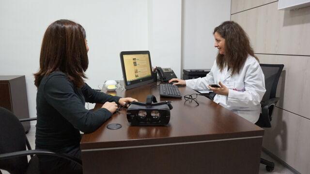 Despatx Psicologia Realitat Virtual Clínica Bofill amb la psicologa Isabel Alarcón