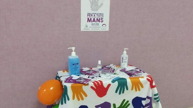 Stand Higiene de mans