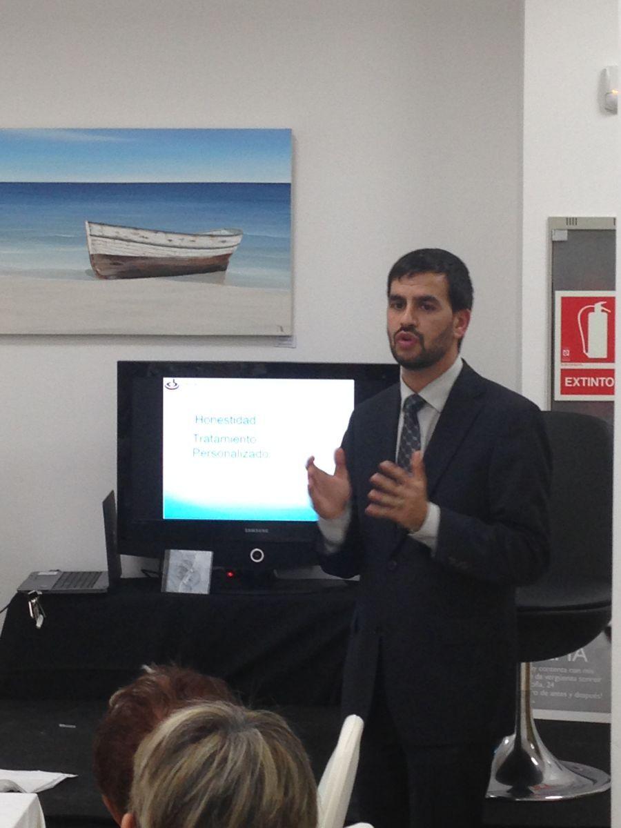 Conferència que va oferir el Dr. Oriol Vernetta