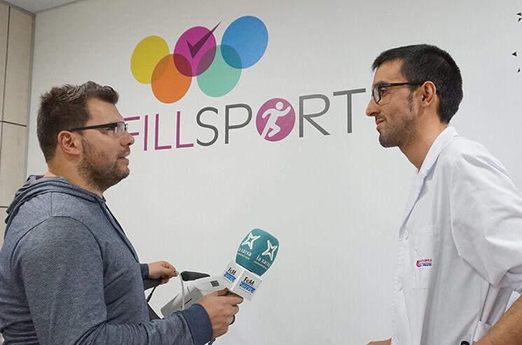 Carles Badellou con Josep Codinach
